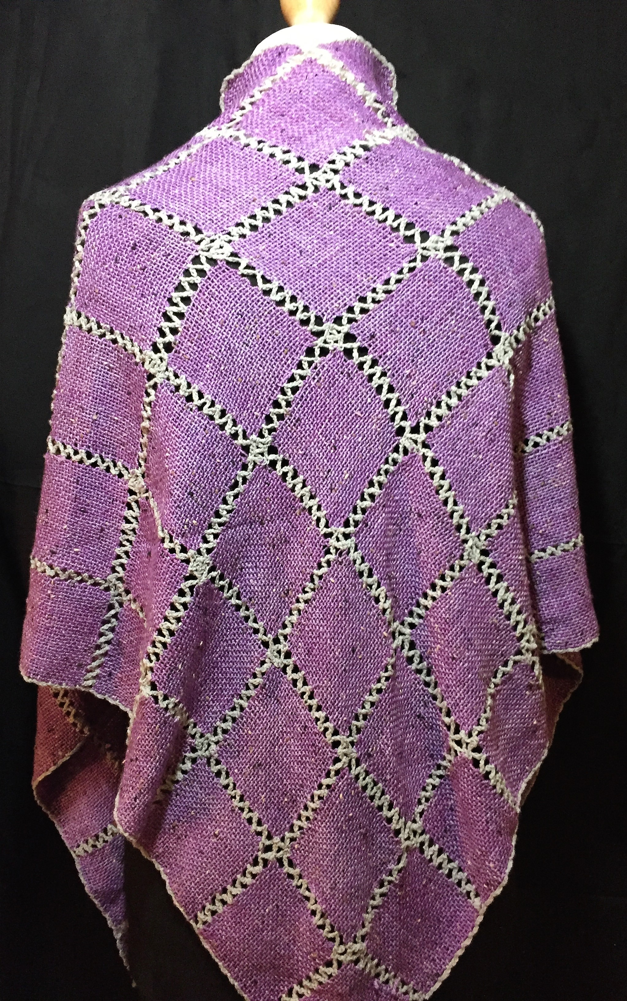 Mills and Loom - Hand-dyed and handwoven wrap