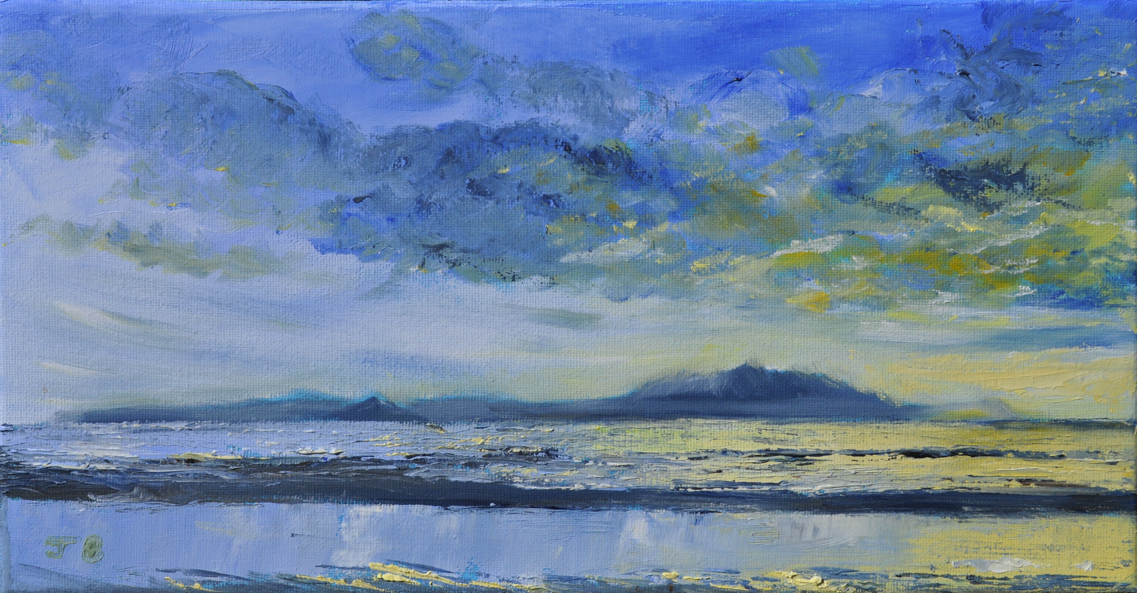 Jenny-Brown-Rainclouds-over-Arran